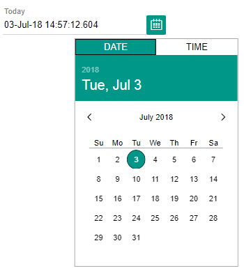 Calendar Custom Element