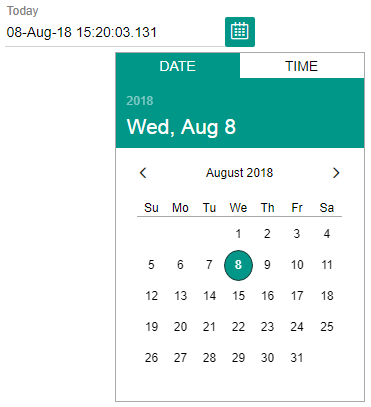 Date Picker Custom Element